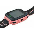 Детские смарт часы F3 для девочки, наручные, розовые (GS00F3P), фото 6