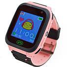 Детские смарт часы F3 для девочки, наручные, розовые (GS00F3P), фото 2