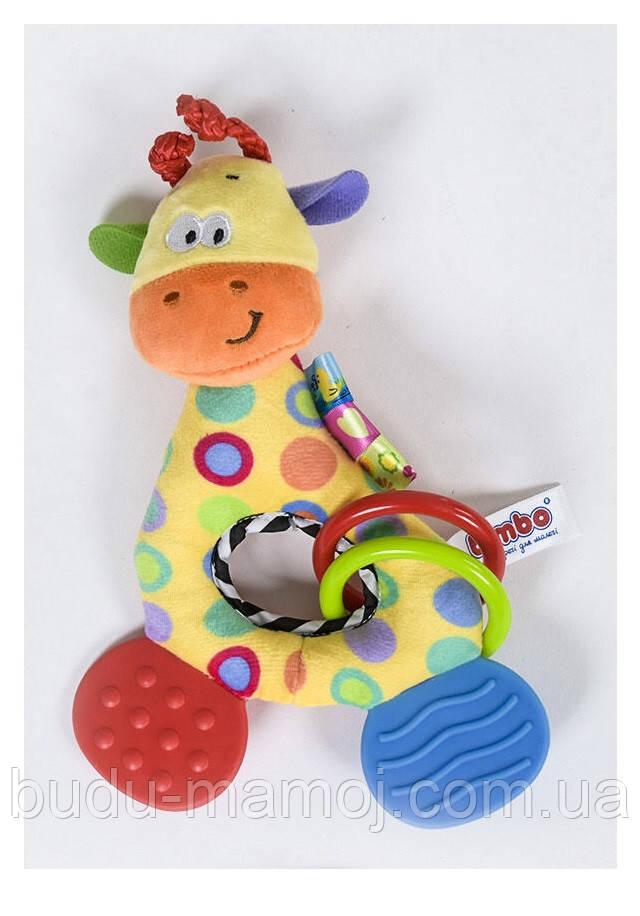 Детская развивающая игрушка прорезыватель для зубов грызунок