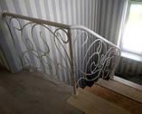 Кованые перила для лестницы, балкона, террасы, фото 7