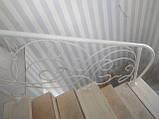 Кованые перила для лестницы, балкона, террасы, фото 3