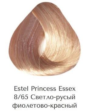 Estel Princess Essex 8/65 Світло-русявий фіолетово-червоний