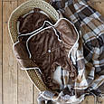 Універсальний махровий спальник, коричневий, 6-12 міс., фото 10