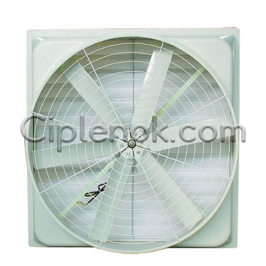 Осевой стекловолоконный вентилятор 850х850 мм