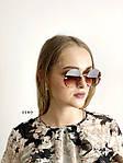 Трендовые круглые солнцезащитные очки  коричневые, фото 2