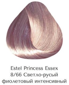 Estel Princess Essex 8/66 Світло-русявий фіолетово інтенсивний