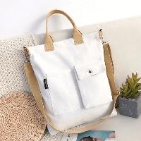 Сумка универсальная эко сумка шоппер, повседневная, удобная, БЕЛАЯ