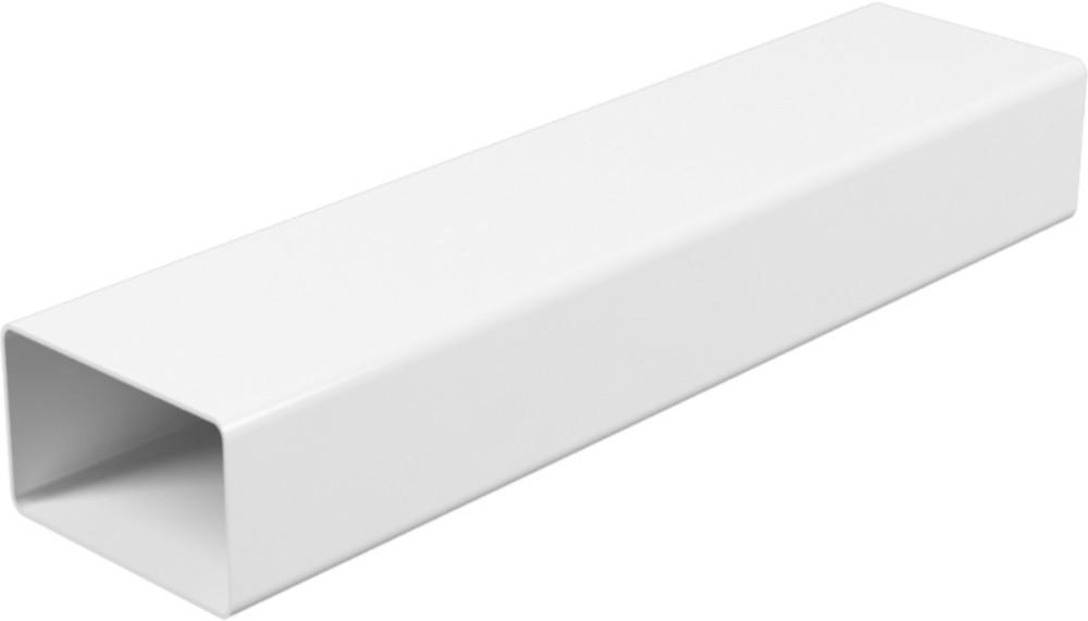 Воздуховод прямоугольный Эра ABS-пластик 55 х 110 мм х 1.5 м (60-158)