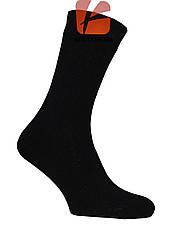 Махрові чоловічі шкарпетки (чорні), фото 3
