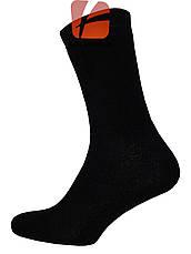Махрові чоловічі шкарпетки (чорні), фото 2