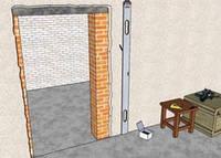 Расширение проемов в стене, фото 1