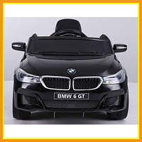 Детский ездовой электромобиль YJ2164 BMW Городской детский автомобиль Черный