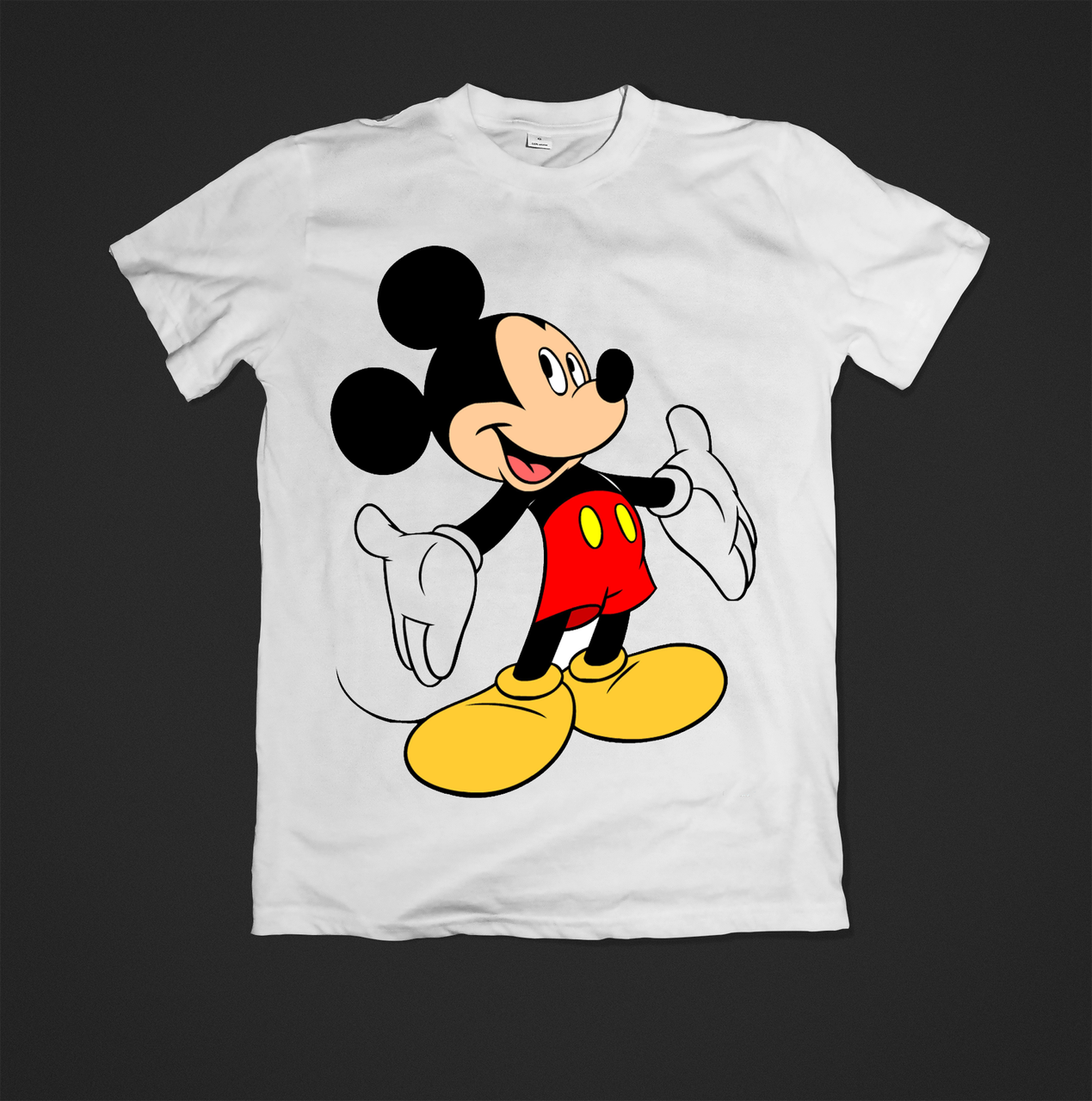 Футболка YOUstyle Mickey 0471 S White