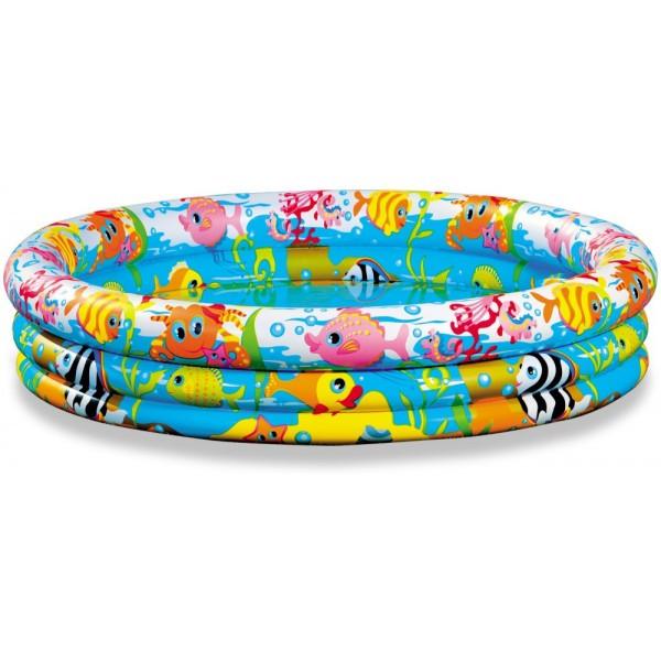 Детский надувной бассейн Intex 59431 для дачи 132х28 см круглый 220 л