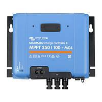 Контроллер заряда Victron Energy SmartSolar MPPT 250/100-MC4 VE.Can (100А, 12/24/48В)