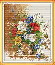 Набор для вышивания крестиком NKF Букет H309 14ст