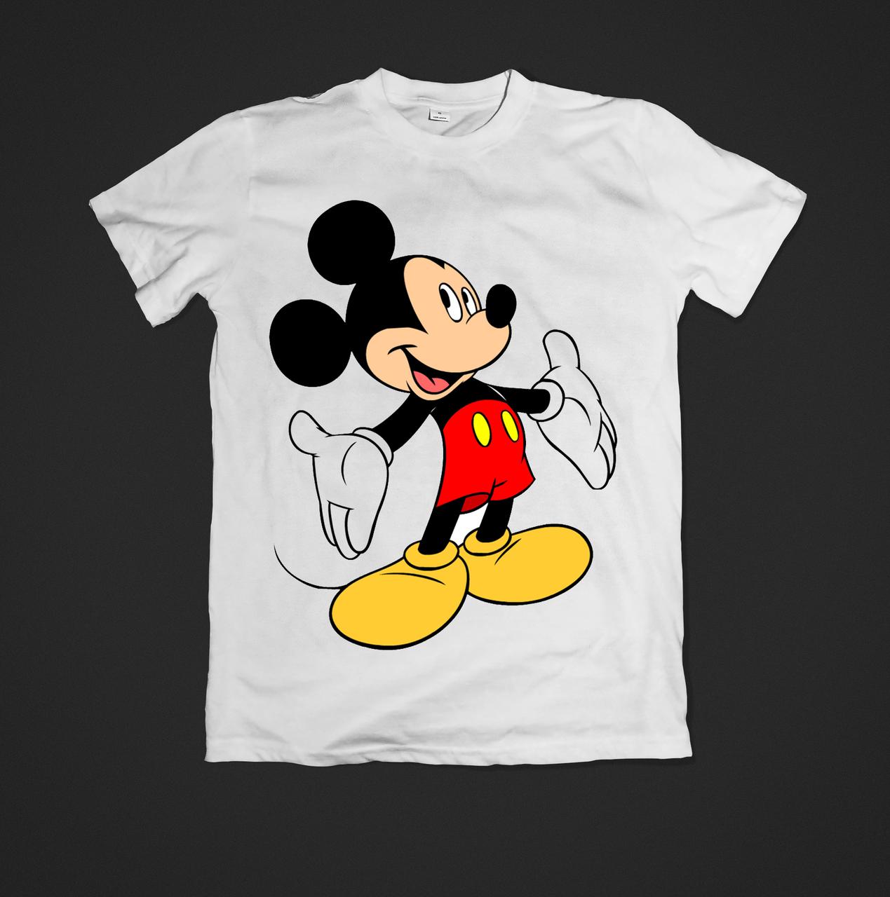 Футболка YOUstyle Mickey 0471 XL White