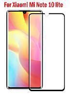 Захисне скло з рамкою для Xiaomi Mi Note 10 Lite