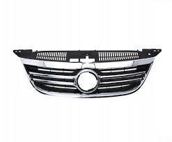 Решетка радиатора VW Tiguan '07-11 хром, черная (FPS) 5N0853651C2ZZ