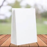 Пакеты из белой крафт бумаги 350х250х140 (1000 шт в упаковке)