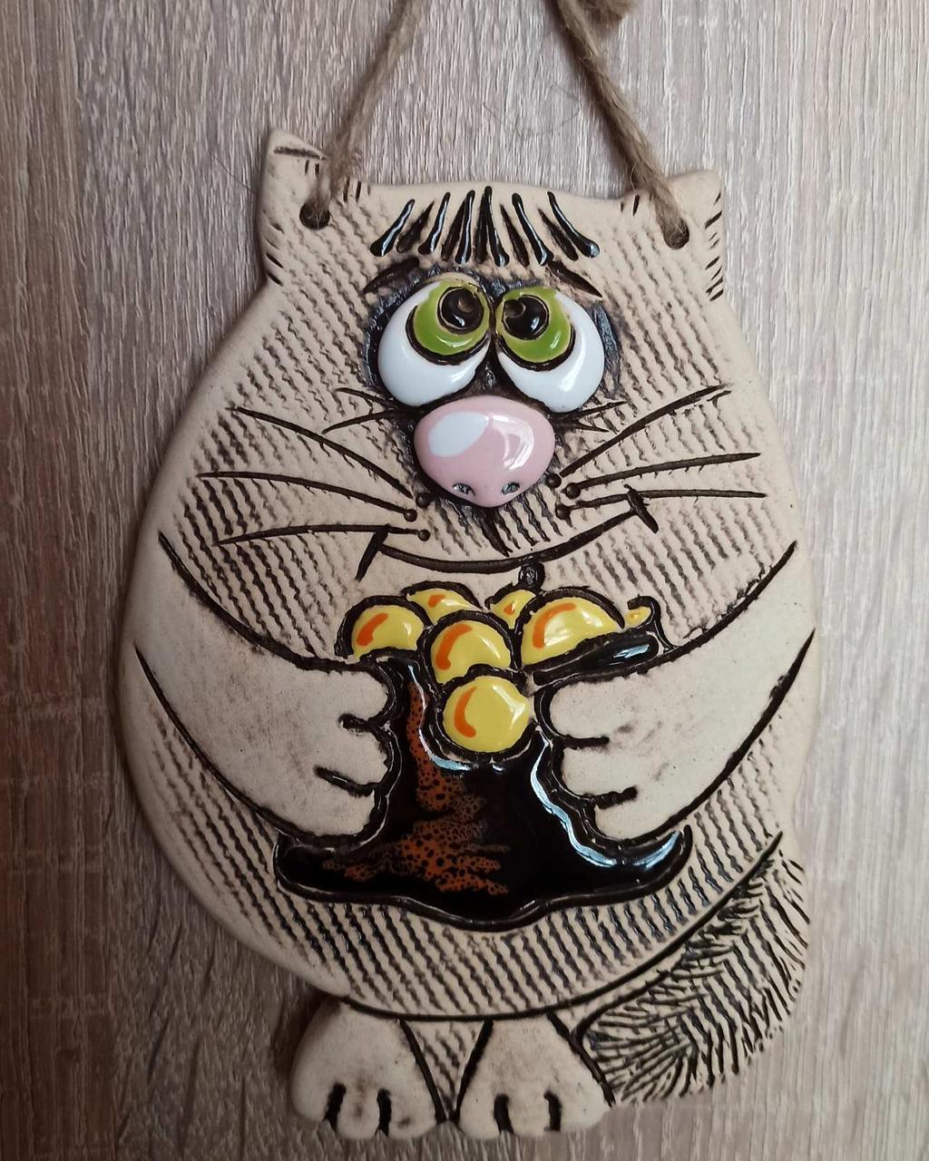 """Сувенир керамический """"Денежный котик"""""""