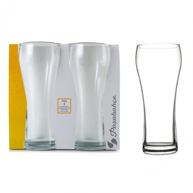 Набор пивных стаканов Pasabahce Паб 2шт 500 мл 42528