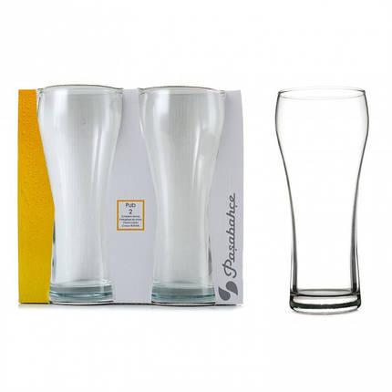 Набор пивных стаканов Pasabahce Паб 2шт 500 мл 42528, фото 2