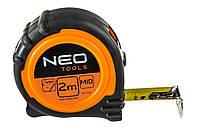 Рулетка NEO 2 м x 16 мм Магнит 000058379, КОД: 1179518
