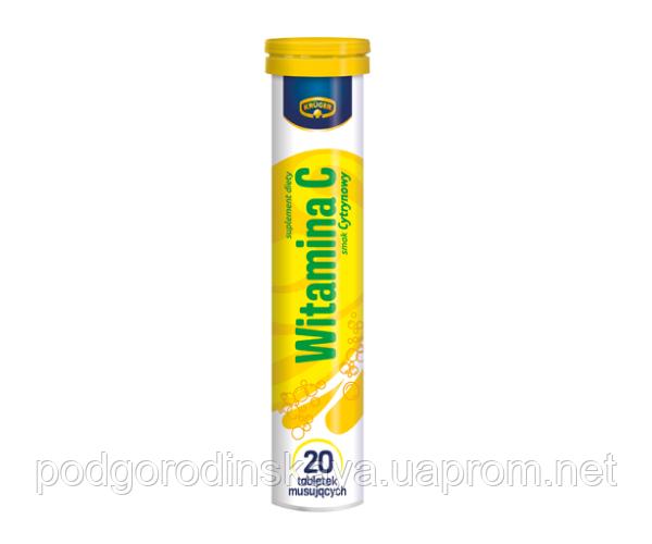 Вітаміни розчинні шипучі Kruger Vitamin C - 20 таблеток