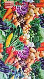 """Клеенка ПВХ на основе """"Овощи"""" ширина 135 см, фото 4"""