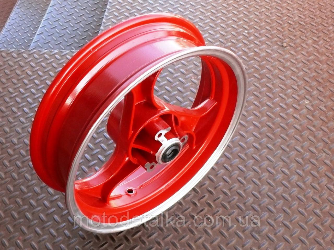 Диск колеса 3,50 * 13 (перед, диск) (легкосплавний) (сріблястий).