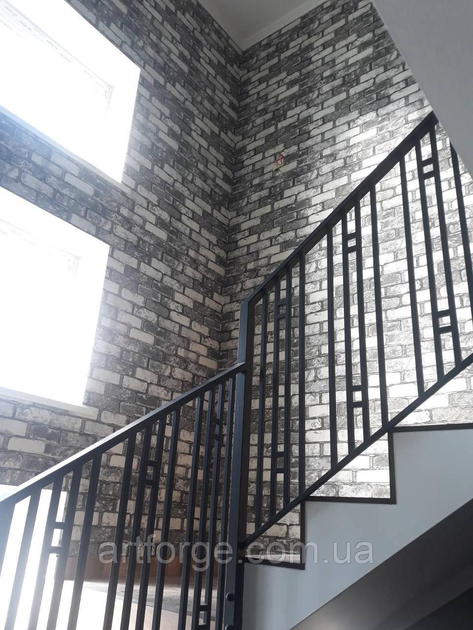"""Ограждение, перила для лестницы в современном стиле """"Лофт"""""""