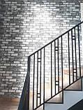 """Ограждение, перила для лестницы в современном стиле """"Лофт"""", фото 2"""