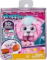 Интерактивная игрушка браслет зверек Пинкс Little Live Wrapples - Pinx 28841 (Moose)