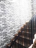 """Ограждение, перила для лестницы в современном стиле """"Лофт"""", фото 3"""