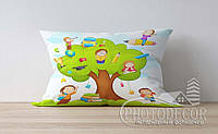 "Детская подушка с фото ""Дерево знаний"""