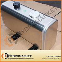 Бак гидравлический (гидробак) закабинный 150 л алюминиевый (50х31х100), на кран-манипулятор