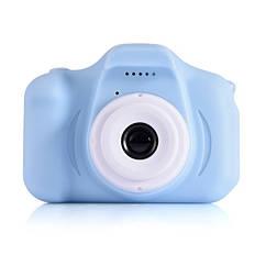 Цифровой фотоаппарат для детей, Противоударный детский фотоаппарат с видео функциями,  с дисплеем (Голубой)
