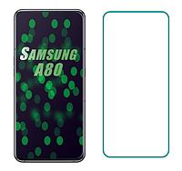 Защитное стекло для Samsung Galaxy A80 A805 прозрачное 2.5D 9H (самсунг галакси а80)