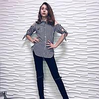 Стильная рубашка туника для девочек,  152см