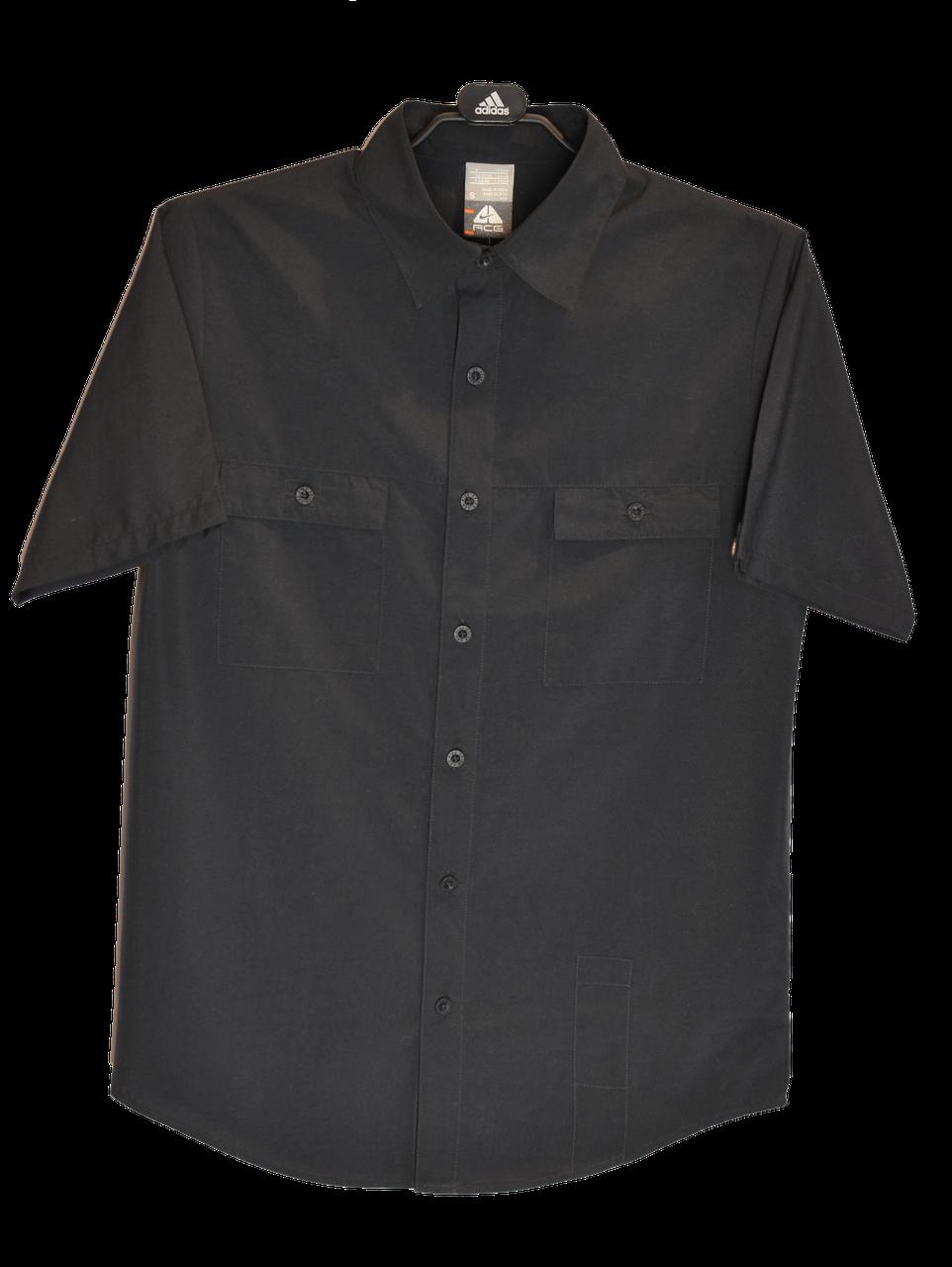 Мужская черная летняя рубашка ACG с коротким рукавом