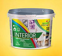 Интерьерная акриловая краска сухое стирание Interior Nanofarb 7 кг