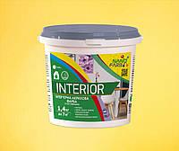 Интерьерная акриловая краска сухое стирание Interior Nanofarb 1.4 кг