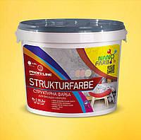 Структурная краска Strukturfarbe Nanofarb 15.3 кг, фото 1