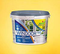 Эмаль для окон и дверей Windoor Aqua Nanofarb 2.7 л