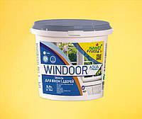 Эмаль для окон и дверей Windoor Aqua Nanofarb 0.9 л