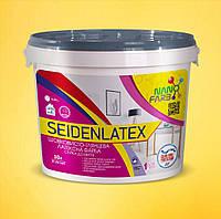 Интерьерная шелковисто-глянцевая латексная краска Seidenlatex Nanofarb 10 л