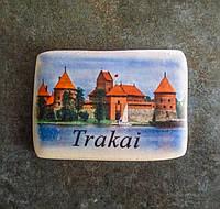 """Магнітик-бруківка """"Trakai"""""""