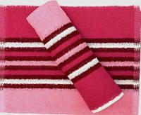 Полотенце кухонное махровое, Розовое кухонное полотенце, Полотенце кухонное Яркие, Махровые полотенца 30 50 см