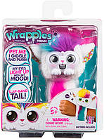 Интерактивная игрушка браслет зайка Уна Little Live Wrapples - Slap Bracelets - Una 28813 (Moose)